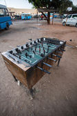Table Football - Livingstone Town — Stock Photo