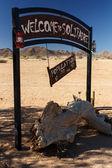 Solitaire - Sossusvlei, Namibia — Stock Photo