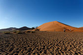 Sand Dunes at Sossusvlei, Namibia — Stock Photo