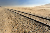 Desert Railway, Namibia — Photo