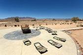 Desert Camp - Sossusvlei, Namibia — Stock Photo