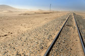 Desert Railway, Namibia — Stock Photo