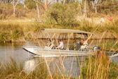 Delta okawango, afryka — Zdjęcie stockowe