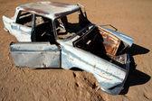 Vintage Car Wreck — Foto de Stock