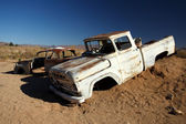 Classic Car at Solitaire - Sossusvlei, Namibia — Stock Photo