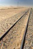 Ferrocarril del desierto — Foto de Stock