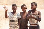Poor African children — Stock Photo