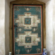 Secular door in the cistercian church from Carta, Romania — Stock Photo #11868794