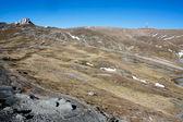 A landscape from Bucegi plateau from Romania — Stock Photo