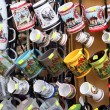 Market of souvenirs from old part of Sighisoara citadel — 图库照片