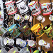 Market of souvenirs from old part of Sighisoara citadel — Stockfoto