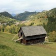 Rural landscape from Brasov county — Stock Photo