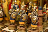 Ottoman toy soldiers — Stock Photo