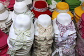 Shop for hats from Istanbul — Stock Photo
