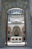 Principal gate of Suleymaniye Mosque — Stock Photo