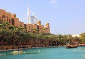 Madinat Jumeirah and Burj Al Arab — Stock Photo