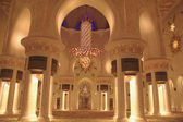 Grande mosquée de sheikh zayed à l'intérieur — Photo