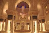 Sheikh zayed grote moskee binnen — Stockfoto