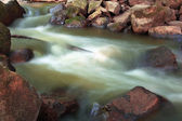 Falling blurred water  — Stock Photo