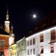 Royalty-Free Stock Photo: Sighisoara by night