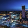 Night panorama of Warsaw — Stock Photo #12451102