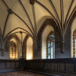 Chamber in greatest Gothic castle - Stock Photo