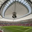 Closed roof in Warsaw National Stadium, Poland — Stock Photo
