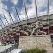 Entrance to the National Stadium in Warsaw, Poland — ストック写真