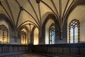 Chamber in greatest Gothic castle — Stock Photo