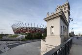 Polonya'da varşova ulusal stadyumu — Stok fotoğraf