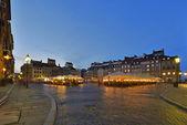 Centro storico durante il tramonto — Foto Stock