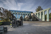 Warsaw Uprising Monument in Warsaw, Poland — Stock Photo