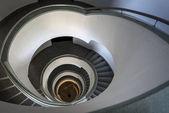 Modern binanın arka merdiven — Stok fotoğraf