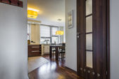 Modern interior home design — Stock Photo