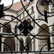 Handrail and balcony in old Palace, Poland — Stock fotografie