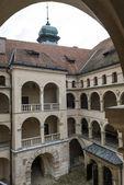 Pieskowej skala pałac - polska, europa. — Zdjęcie stockowe