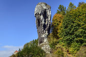Rock called Maczuga Herkulesa in National Ojcow Park — Stock Photo