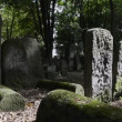 Historic Jewish cemetery at Okopowa Street in Warsaw, - Stock Photo