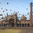 The mosque Jama Masjid in Delhi — Stock Photo