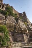 Mehrangarh fort şehirde jodhpur, hindistan — Stok fotoğraf