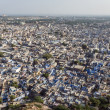 Blue city - Jodhpur in Rajasthan, India — Stock Photo