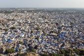 Ciudad azul - jodhpur en rajasthan, india — Foto de Stock