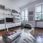 Post modern urban interior design — Stock Photo