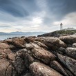Lighthouse at Fanad Head on the north coast of Donegal — Stock Photo
