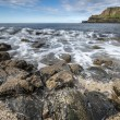 North Ireland rocky sea landscape — Stock Photo