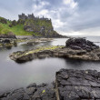 Dunluce castle a famous Ireland landmark — Stock Photo