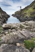 Latarnia morska, fanad głowy, irlandia — Zdjęcie stockowe