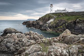 Lighthouse at Fanad Head, Donegal, Ireland — Stock Photo