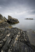 Rocky, North Ireland landscape — Foto Stock