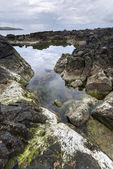 Ballycastle, Antrim Coast landscape in North Ireland — Stock Photo